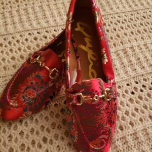 NWOB💞QUPID TAPESTRY MULTICOLORED LOAFERS💞